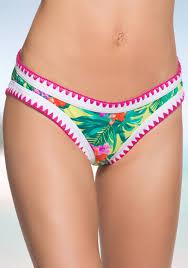 Betsey Johnson Betseys Tropical Escape Hipster Swim Bottom