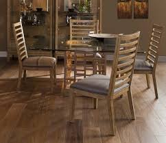 glass dining table with wooden chairs. wood pattern square glass top dining table with wooden chairs