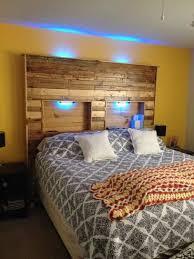 headboard lighting. Picture Of Pallet Headboard With Lights Lighting I