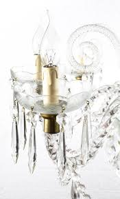 this is a stunning vintage crystal chandelier in superb venetian style with eight lights and