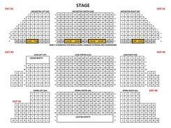 Seating Chart El Campanil Theatre