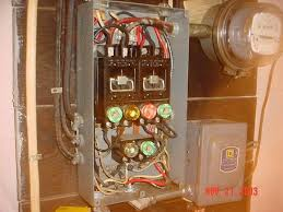 butchered 60 amp service to dissect internachi old school fuse box at Wiring From 60 Amp Fuse Box