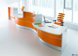 VALDE CURVED RECEPTION DESK by MDD