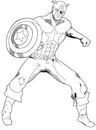 Small Picture Top 25 best Captain america coloring ideas on Pinterest La