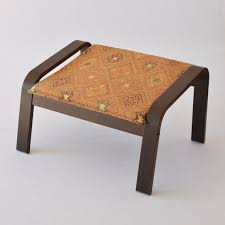 ikea poang ottoman footstool fabric