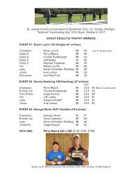 "St. Joseph County Conservation & Sportsman Club, Inc, Sturgis, Michigan  ""National Trapshooting Day"" ATA Shoot, October 8"