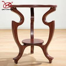 wooden end tables new solid wood tea table walnut round minimalist modern home living room antique furniture
