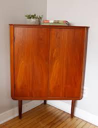 strmcm danish modern corner cabinet
