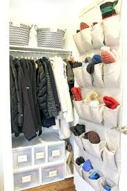 hall closet hall closet organization and storage ideas behind the door shoe organizer for mittens and