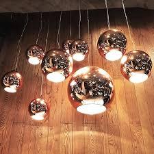 tom dixon copper shade 45 replica pendant light mirror ball glass