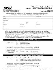 Direct Deposit Form - 63 Free Templates In Pdf, Word, Excel Download