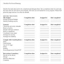 Event Planning Proposal Event Planning Document Template