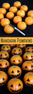 Mandarin Pumpkins: Now you have an excuse to put Halloween