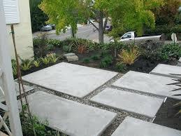 modern concrete patio. Modern Concrete Patio Ideas D