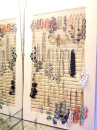 Jewelry Organizer Wall Jewelry Organizers Wall Mount All Home Design Ideas Best