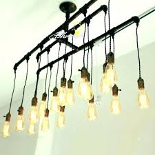 replace track lighting light bulbs bulb handmade pipe and chandelier with replac