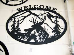 metal wildlife welcome signs by plasma designs  on plasma cut metal wall art with http plasmadesigns fo plasma designs metal wall art metal