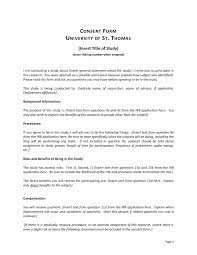 Things To Do Form Template Unique Best S Of Research Consent Form ...