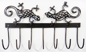 Metal Coat Hook Rack