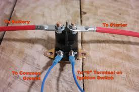 mower solenoid wiring wire center \u2022 Sears Craftsman Wiring-Diagram engine wiring starter solenoid lawn mower wiring diagram diagrams rh keyinsp com lawn mower solenoid wiring tractor solenoid wiring