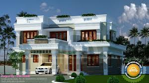 January Kerala Home Design And Floor Plans Flat Roof Style Construction  Exterior House Designs E2 Planning home decor ...