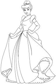 Download Thanksgiving Cinderella Coloring Pages Printable Coloring