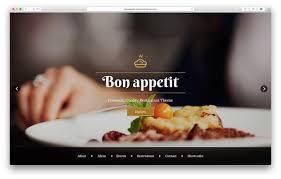 Wp Restaurant Themes 10 Best Wordpress Restaurant Themes 2019 Wparena