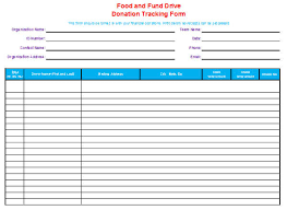 fundraising tracker template donation tracker template donor tracking spreadsheet tracking