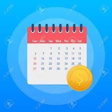 Monthly Budget Planning Financial Calendar Annual Payment Day Monthly Budget Planning