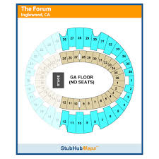 La Forum Concert Seating Chart La Forum Inglewood Event Venue Information Get Tickets