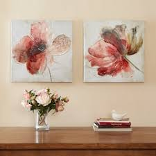madison park lovely blossoms canvas 2 pc wall art set on winter blooms ii canvas wall art with pink wall decor home decor kohl s