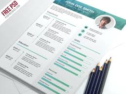 Modern Formatted Resume Templates Free Elegant And Modern Resume Template In Format Download