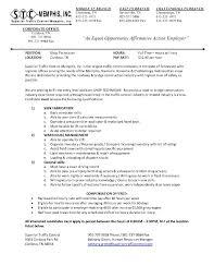 Porter Job Description Resume Administrative Resume With