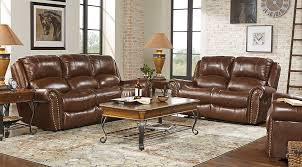 leather couches living room. Shop Now. Abruzzo Brown 3 Pc Leather Living Room Couches P
