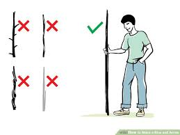 How To Make A Bow And Arrow 13 Steps With Pictures Wikihow