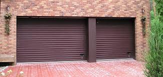 garage door with entry door built in sectional garage door rib entry door in a garage