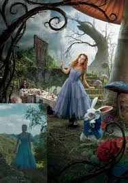 alice in wonderland tea bg another thing i loved about the movie were alice s dresses and there were loads of it since she kept on shrinking and growing they were all so pretty