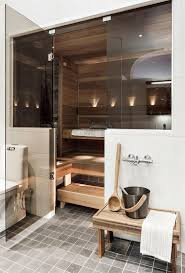 home steam room design. Modern And Simple Sauna! Home Steam Room Design E