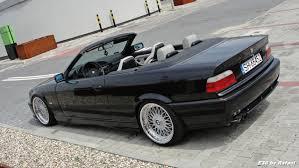 BMW 5 Series bmw 5 series bbs : Black BMW e36 cabrio on OEM BMW Styling 5 (BBS RC) wheels (18 ...