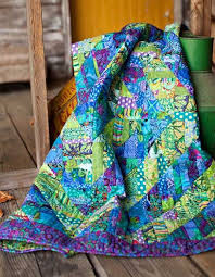 932 best Hot Quilts images on Pinterest | Colors, Landscapes and ... & Fragmented Triangles quilt by Liza Prior Lucy - free pattern, but  instructions are really essential - Kaffe Fassett - Westminster Fabrics Adamdwight.com