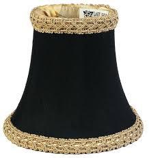 black chandelier lamp shades design