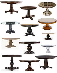 endearing round table bases iron steel wood for