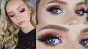 rose gold valentine s day makeup look