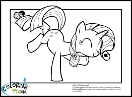 Small Picture My Little Pony Coloring Pages Rarity In Dress Coloring Pages