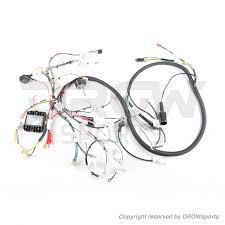 gy6 150cc scooter main wire harness drowsports dan max honda ruckus gy6 150cc swap wire harness