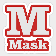 It is used to spell out words when speaking to someone not able to see the speaker, or when the audio channel is not clear. M For Mask Phonetic Alphabet In Pandemic Phonetic Alphabet Sticker Teepublic