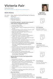 Class Teacher & Ict Lead Teacher For Nursery Primary 2 Resume samples