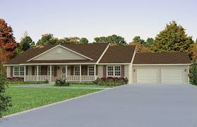 Image of: Adding a Porch to a Ranch Style House Characteristics
