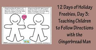 12 Days of Holiday Freebies, Day 3: Teaching Children to Follow ...
