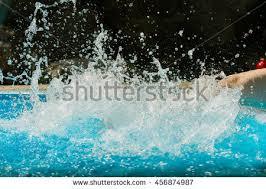 pool splash vector. Girl\u0027s Beauty Legs In The Swimming Pool Making Splashes Splash Vector I